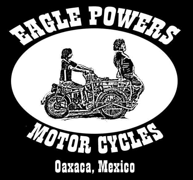 Nacho Libre Jack Black Eagle Powers Motorcycles Shirt