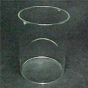Cylinder Tube Candle Holder Light Lamp Shade Sconce Clear Glass New