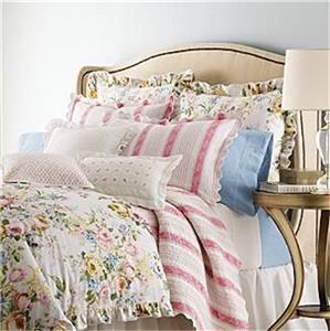 Details about ralph lauren home lake floral full queen comforter new