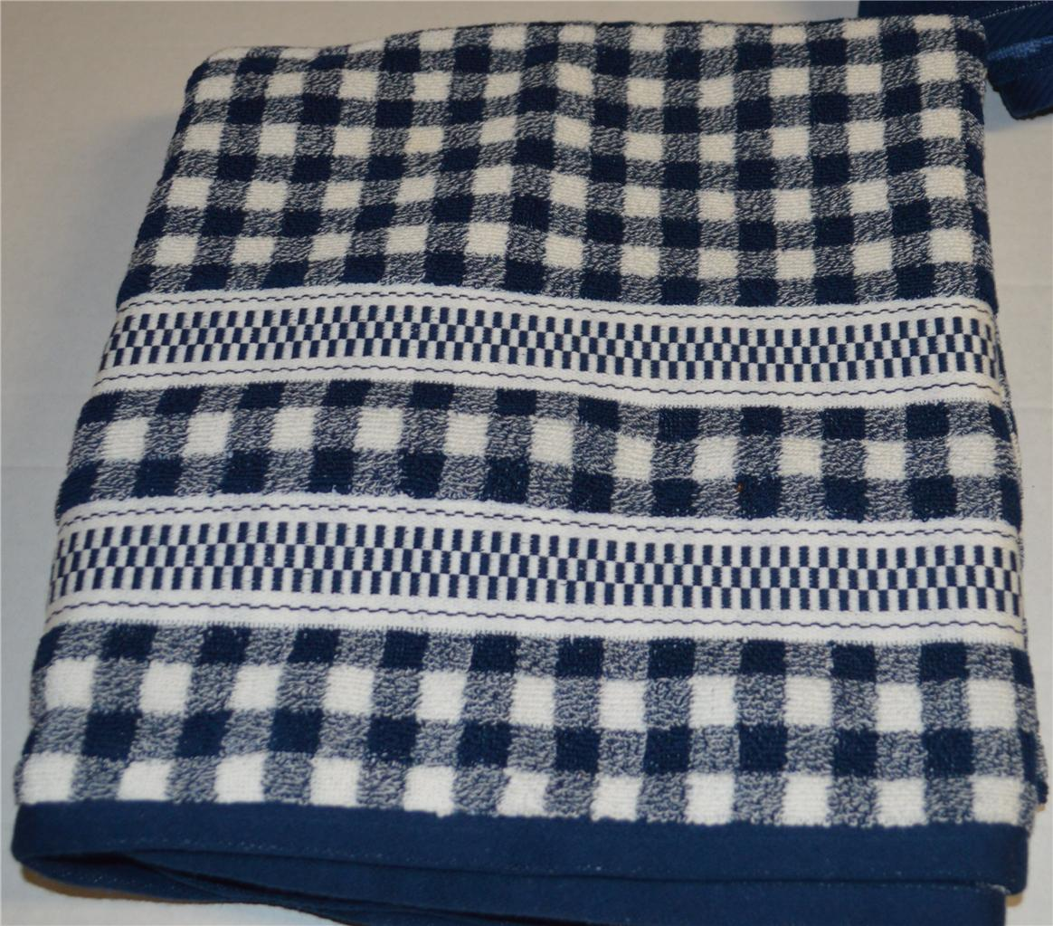 RALPH LAUREN Talmadge Hill Blue BATH TOWEL