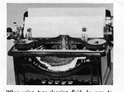 How to clean vintage typewriters