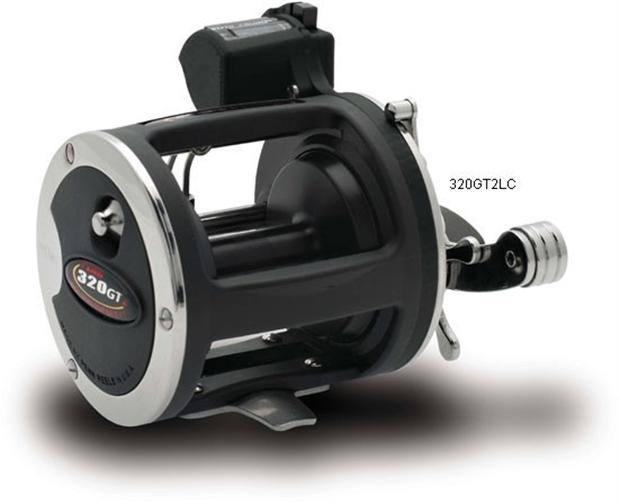 Penn 320gt2lc level wind fishing reel 320 gt2lc line for Line counter fishing reels