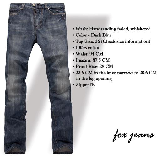 NEW-MENS-FOXJEANS-DENIM-MENS-BLUE-JEANS-SIZE-32-34-36-38-40-42-44