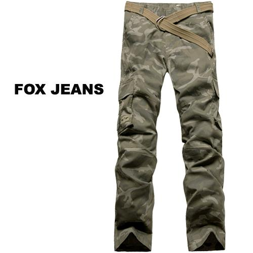 NEW-MENS-FOXJEANS-CAMO-CARGO-PANTS-SIZE-42
