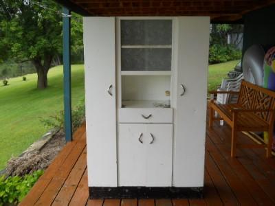 about vintage metal hutch hoosier pantry cabinet medical dental