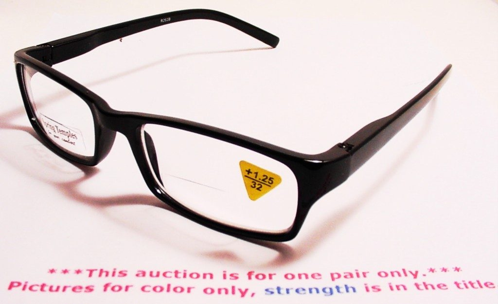 034 clark kent 034 st bifocal reading glasses 1 25 r262b