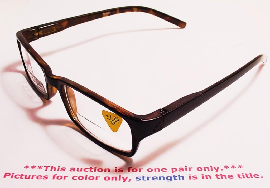 quot clark kent quot st bifocal reading glasses 1 25 r262b ebay