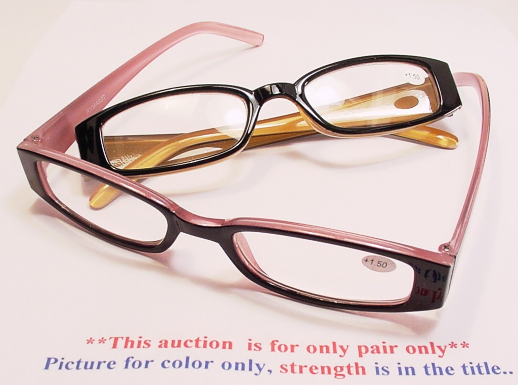 quot quot colored metal hinge reading glasses 2 00 r108 ebay