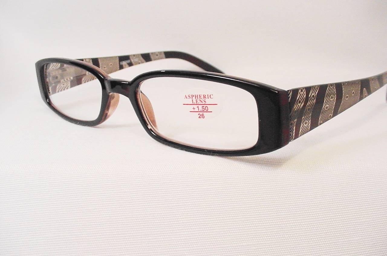 quot the wave quot aspheric lens reading glasses temple 1