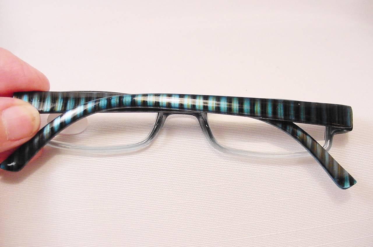 quot bon temps quot aspheric lens temple reading glasses 1