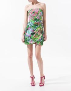 Zara Celebrity Floral Dress 15
