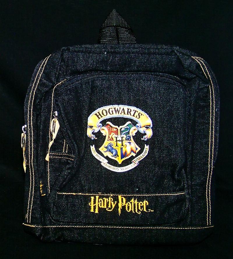 Harry Potter Book Bag : New harry potter backpack book bag school hogwarts blue ebay