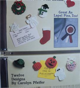 Crochet Fridge Magnets Patterns | Free Patterns For Crochet