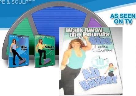 Leslie Sansone Walkblaster The Ramp 3 Dvd Set Bonus Ebay