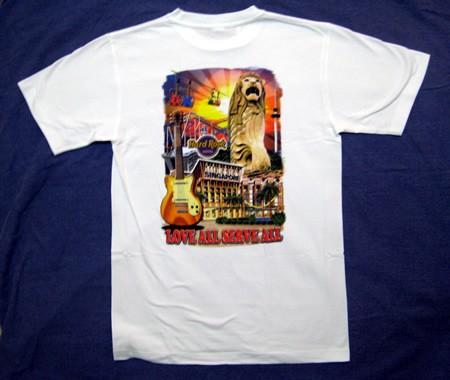 Hard Rock Cafe Hong Kong T Shirt