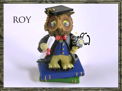 Graduation-Wise-Owl-Mini-Figurine-Regency-Fine-Arts-exam-pass-gift-choice-of-6