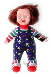 Chucky Childs Play Chuckie Vinyl Plush Gothic Guy Doll
