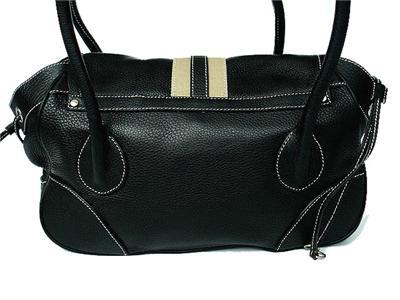 prda handbags - NEW PRADA LEATHER PURSE HANDBAG BR2937 - BLACK