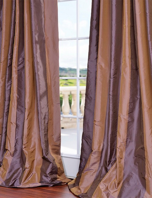 Privacy Curtains For Home Faux Silk Valances for