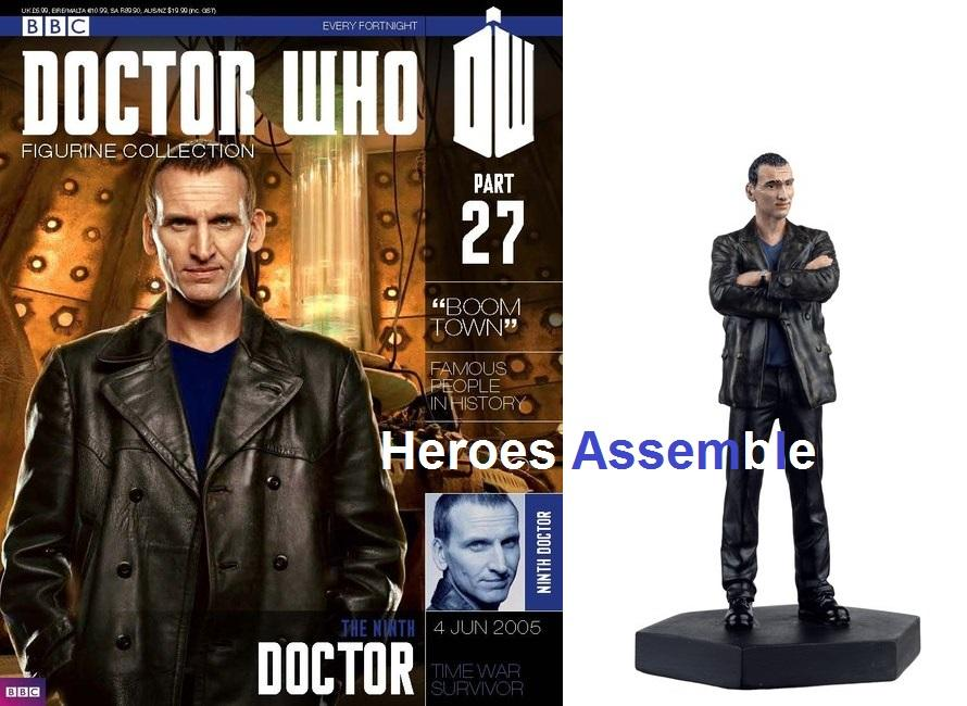 OFFICIAL-Doctor-Who-FIGURINA-COLLECTION-27-nono-il-dottor-Chris-ECCLESTONE-EAGLEMOSS