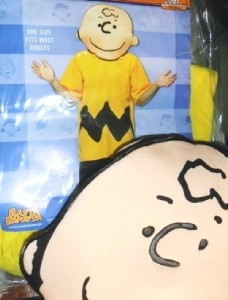 Character costume the peanuts charlie brown adult costume may will