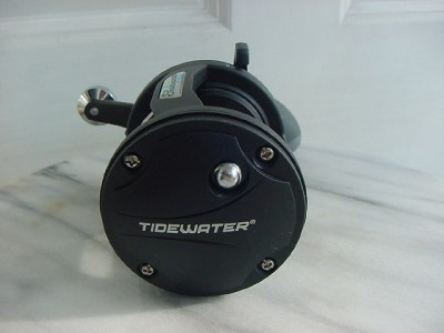 Shakespeare tidewater tw30l saltwater big game reel used for Used saltwater fishing reels for sale