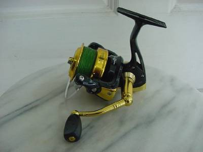 Nice used tsunami performance plus spinning reel tp4000 for Tsunami fishing reels