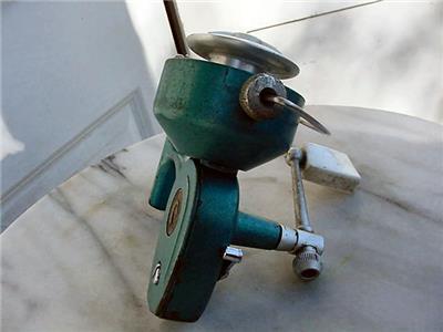 Vintage penn spinfisher 722 spinning reel greenie fishing for American made fishing reels