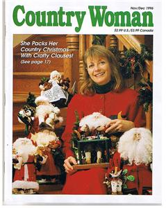 Country woman magazine november 1996 christmas crafts ebay for Country woman magazine crafts