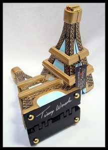 Limited Edition TIMMY WOODS Eiffel Tower Bag Red Carpet ...