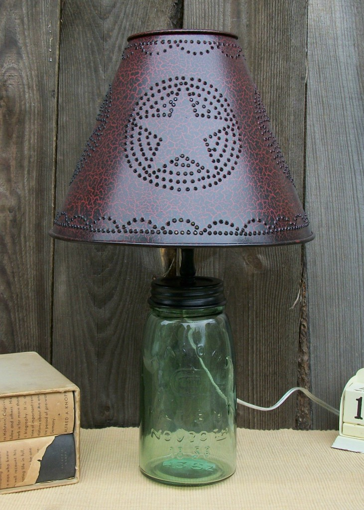 Primitive Lamps Country. Lamp Light For Excellent Primitive Shades ...