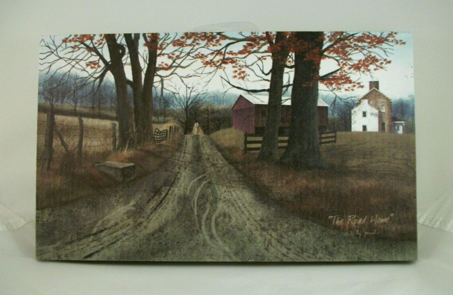 Billy jacobs stretched canvas print 10 x 6 primitive for Country wall art