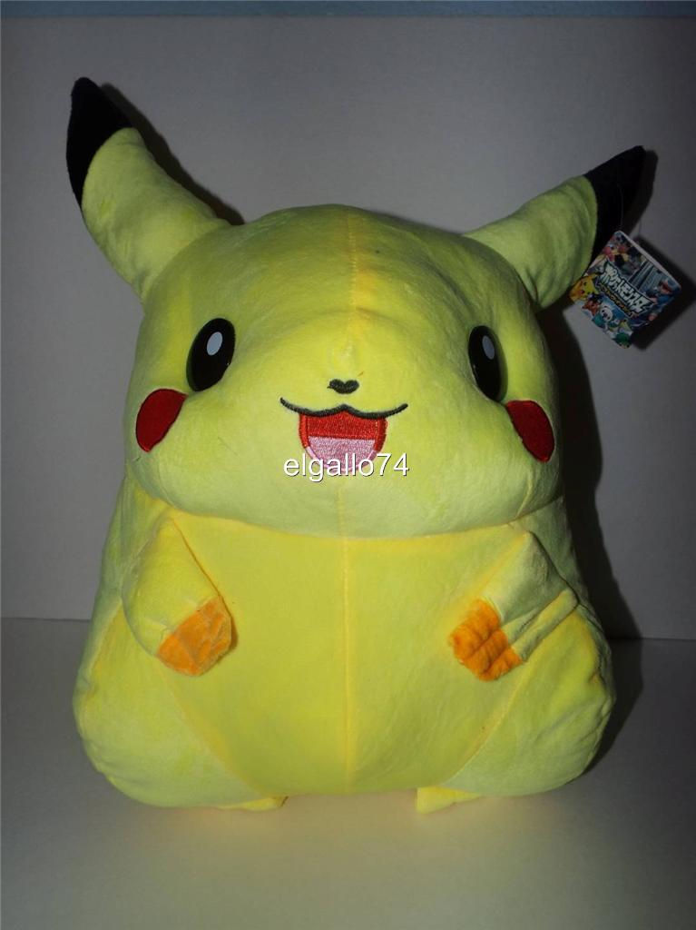 NEW-NWT-BIG-HUGE-18-POKEMON-PIKACHU-Plush-Doll-Pillow-Toy-Cosplay
