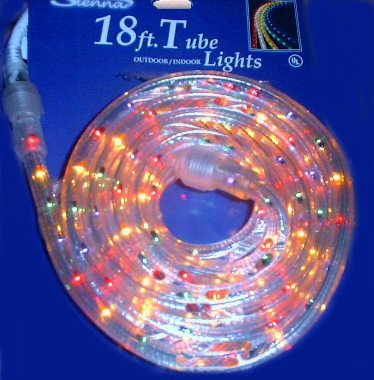 Multi Color Christmas Lights - Mini, LED, Rope, Icicle, C Style