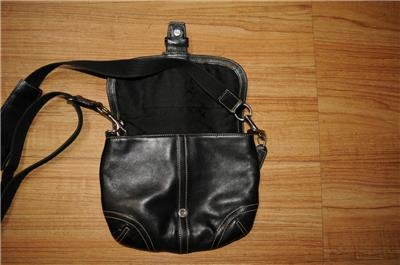coach crossbody bag outlet  coach small black leather