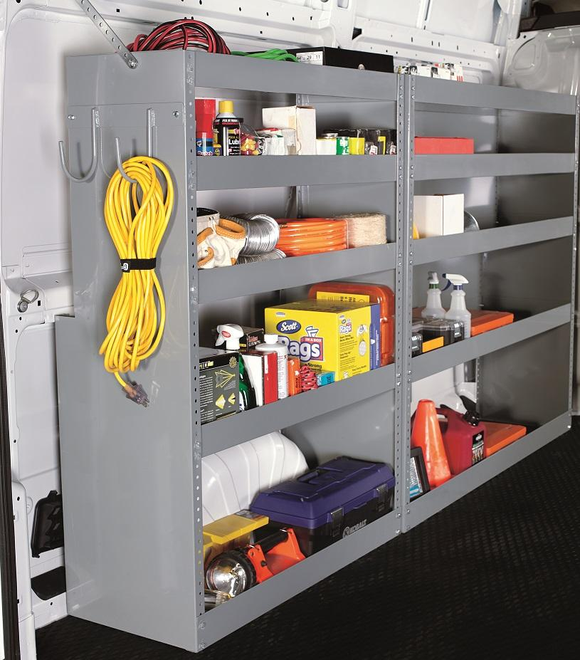 Truck Amp Van Shelving Shelf And Bin Systems American Van