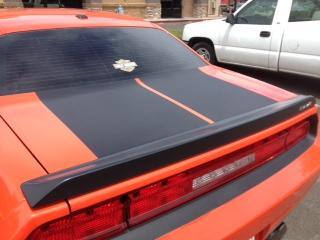 dodge challenger se rt srt black carbon fiber hood trunk stripes 2008 2014. Black Bedroom Furniture Sets. Home Design Ideas