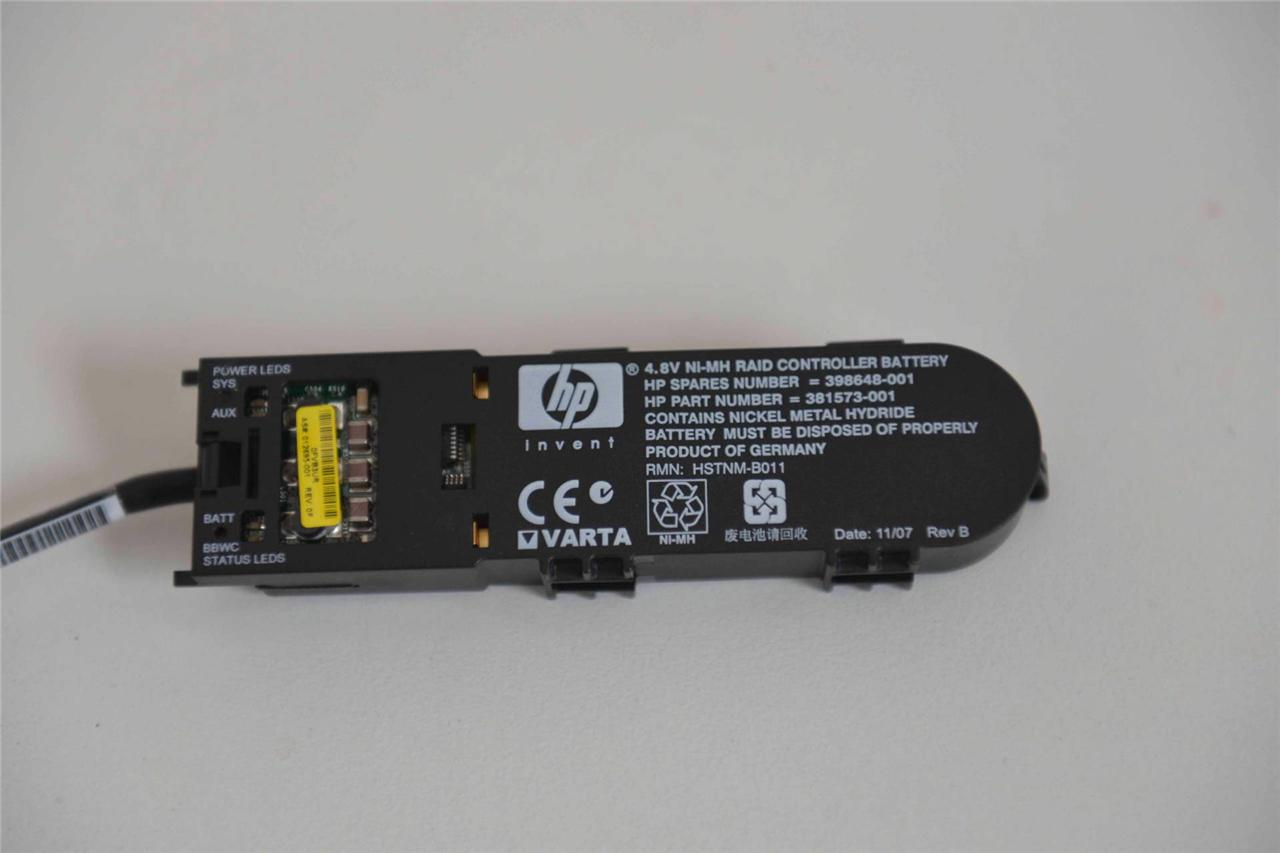 Genuine-HP-Smart-Array-P400-P400I-4-8V-NI-MH-Raid-Controller-Battery-398648-001
