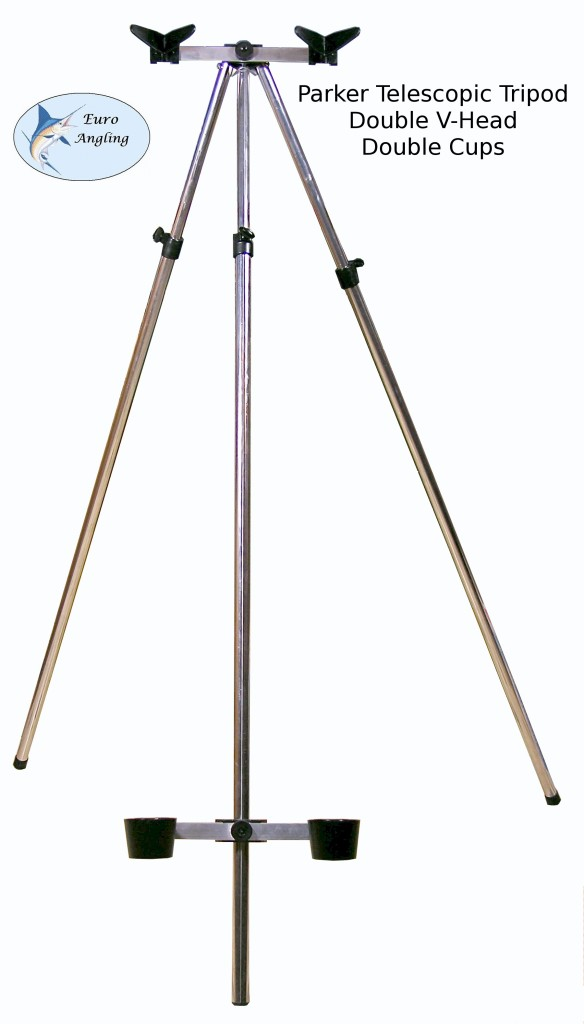 Parker Angling NEW 3-5ft Telescopic Coarse/Sea Fishing Tripod/Rod Rest