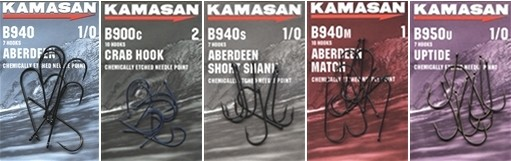 Kamasan B940 Aberdeen/crab/short/match/uptide Sea Hooks