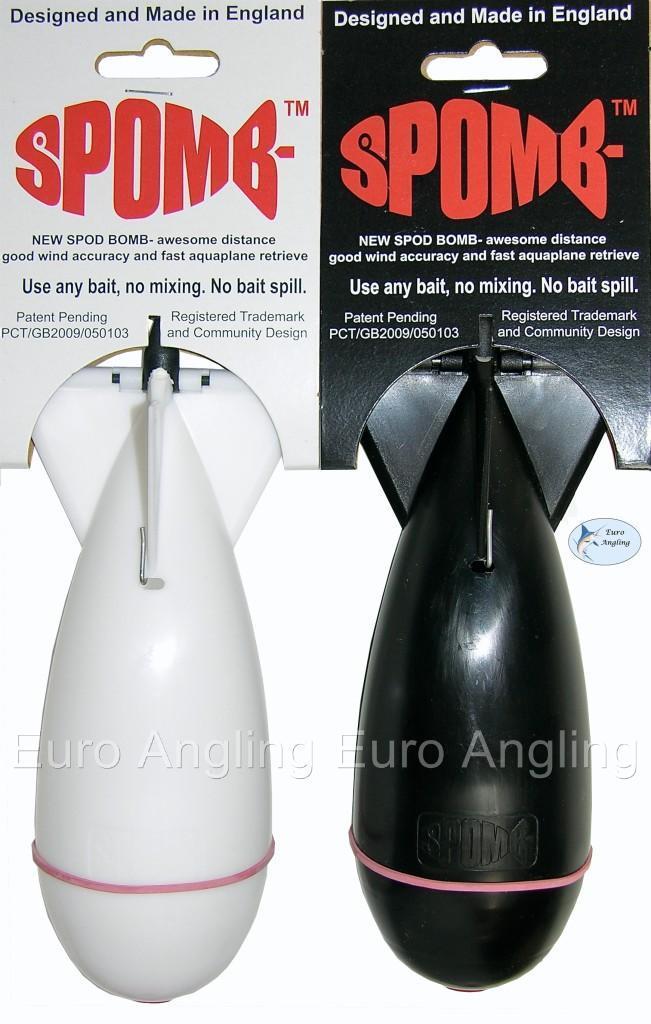 The Spomb Carp Fishing Floating Spod Bomb/Bait Rocket - All Sizes