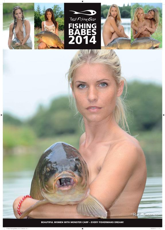 TF-GEAR-2014-TOTAL-FISHING-BABES-CARP-FISHING-WALL-CALENDAR-2014