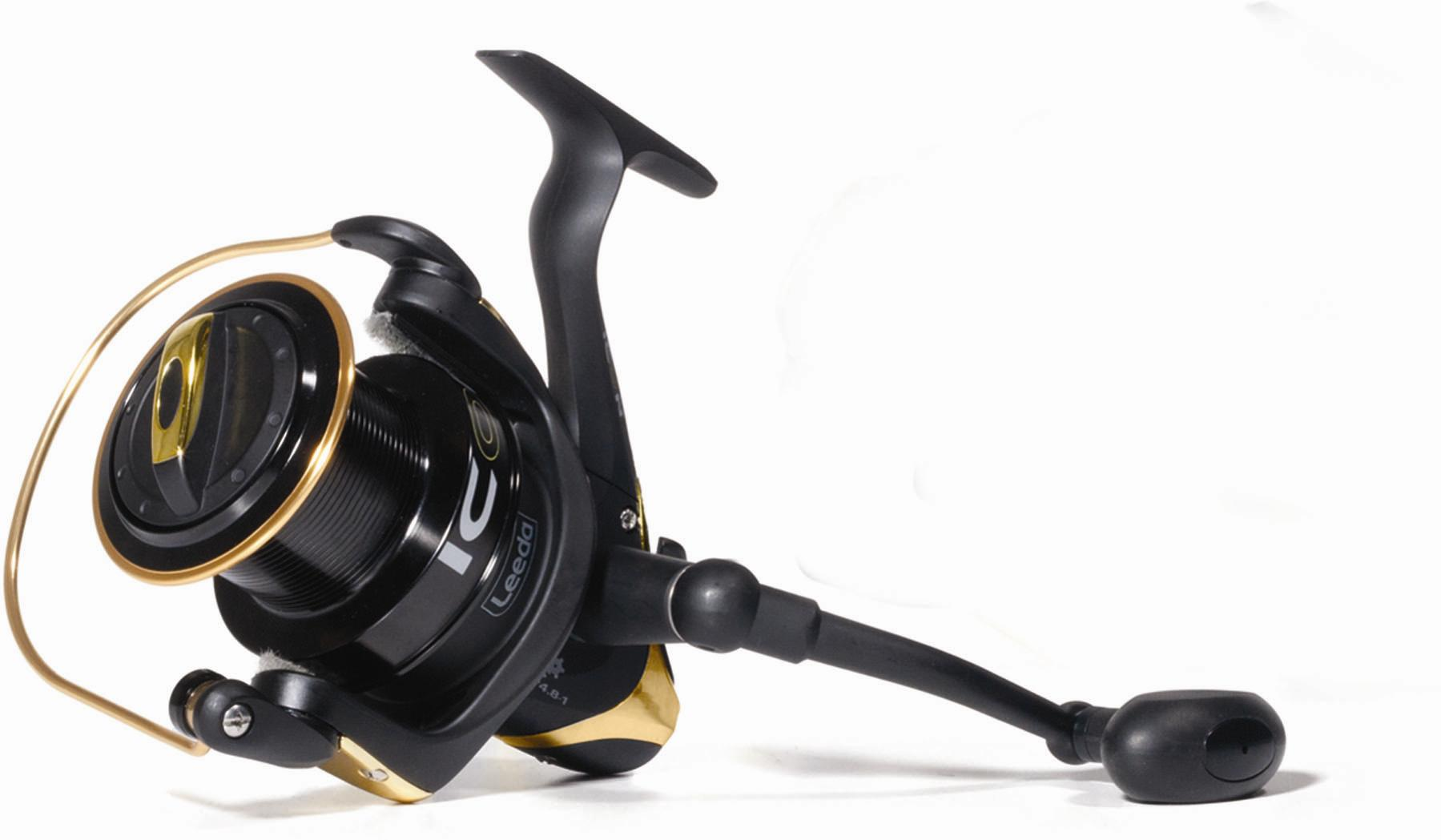 Leeda icon surf fixed spool beach casting sea fishing reel for Surf fishing reel