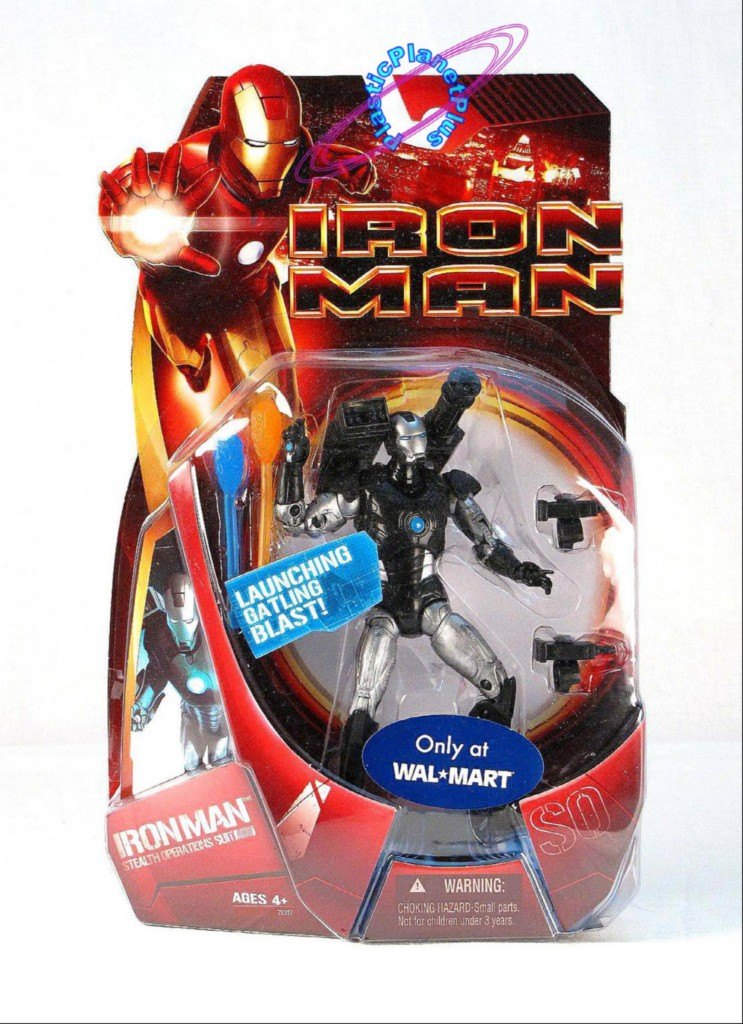 Iron Man Movie Stealth Operations Suit Wal-Mart Exclusive