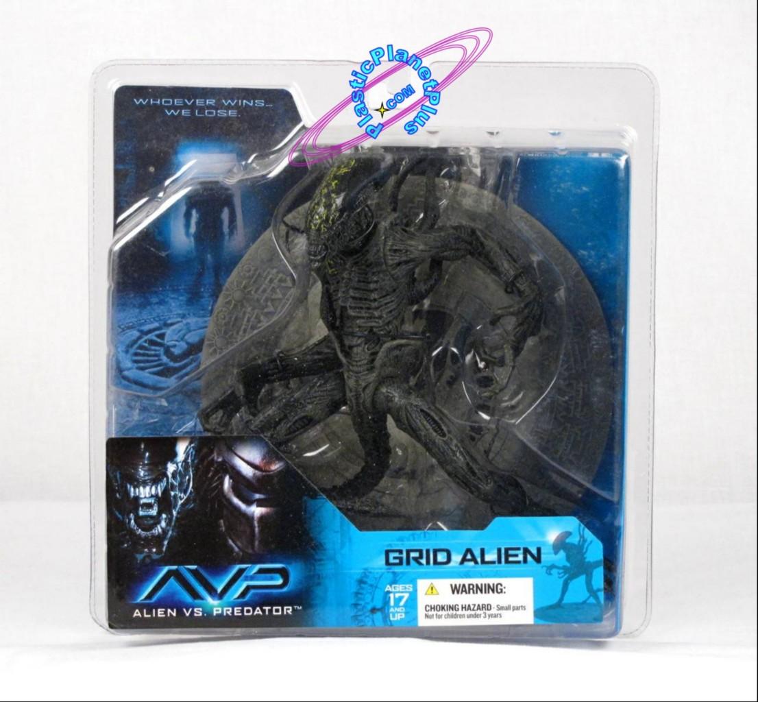 Avp Grid Alien Predator series 1 grid alien