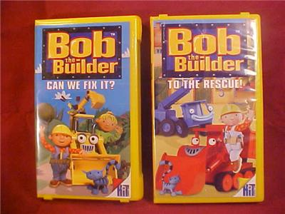 Bob The Builder 2001 Vhs