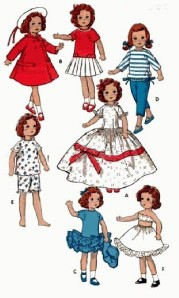 "Betsy McCall 14"" Tonner - Doll Clothes Patterns"