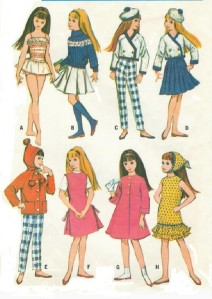 Doll and Doll Clothes Patterns   Vintage Sewing Patterns