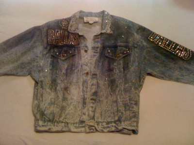 VTG 80s TONY ALAMO ART DALLAS DENIM ROCK PUNK AUSTRIAN ...