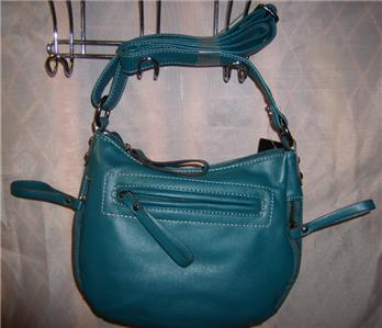 MONDANI NEW YORK WOMENS HANDBAG TEAL HYDE PARK NWT - Handbags & Bags